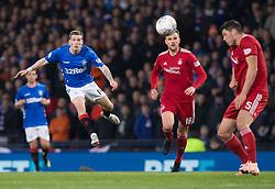 Rangers Ryan Kent shoots during the Betfred Cup semi final match at Hampden Park, Glasgow.