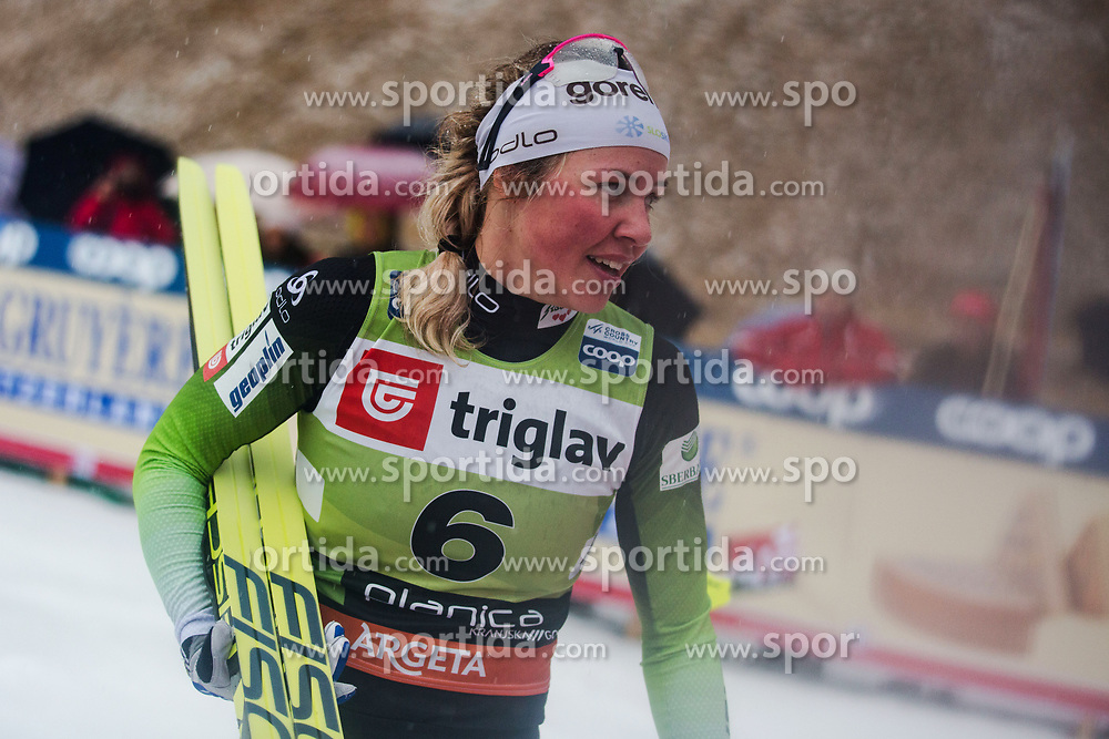 Ana Maria Lampic (SLO) during the Ladies sprint free race at FIS Cross Country World Cup Planica 2019, on December 21, 2019 at Planica, Slovenia. Photo By Peter Podobnik / Sportida