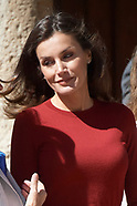 061219 Queen Letizia attends Closing of the Seminar for Journalists and Communicators