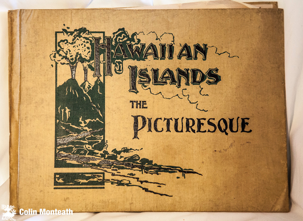 HAWAIIAN ISLANDS - THE PICTURESQUE - The Paradise of the Pacific, Donohoe & Co., Chicago, circa 1900 - 80 page large format hardback full page B&W plates - binding a tad loose, corner bumped, overall VG - scarce $NZD140