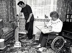 Carer & disabled woman UK 1991