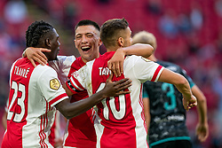 Lisandro Martinez of Ajax scores 3-0 during eredivisie round 02 between Ajax and RKC at Johan Cruyff Arena on September 20, 2020 in Amsterdam, Netherlands