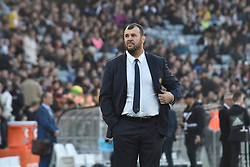 October 22, 2016 - Auckland, Auckland, New Zealand - Australia Wallabies coach Michael Cheika during the  Third Bledisloe Cup test match against New Zealand All Blacks. All Blacks defeats Wallabies 37-10. (Credit Image: © Shirley Kwok/Pacific Press via ZUMA Wire)