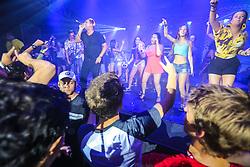 Comunidade Nin-Jitsu se apresenta no Palco Complex durante a 22ª edição do Planeta Atlântida. O maior festival de música do Sul do Brasil ocorre nos dias 3 e 4 de fevereiro, na SABA, na praia de Atlântida, no Litoral Norte gaúcho.  Foto: André Feltes / Agência Preview