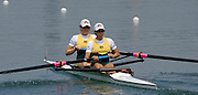 2005 FISA Rowing World Cup Munich,GERMANY. 18.06.2005; AUS W2-  Bow Pauline Frasca and Robin Selby Smith..Photo  Peter Spurrier. .email images@intersport-images...[Mandatory Credit Peter Spurrier/ Intersport Images] Rowing Course, Olympic Regatta Rowing Course, Munich, GERMANY