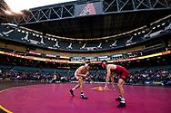 PHOENIX, ARIZONA - JANUARY 11: ADEE hosts ASU Wrestling. (Photo by Sarah Sachs/Arizona Diamondbacks)