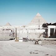 Giza Pyramids. Cairo. Egypt.