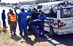 South Africa - Pretoria - 16 July 2020 - Tshwane policing authorities embark on an intence O Kae Molao operation to inforce Covid-19 regulations compliance and to also combat crimes.<br /> Picture: Oupa Mokoena/African News Agency (ANA)
