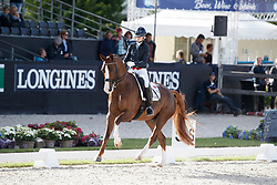 Fry Charlotte, GBR, Fendi T<br /> Longines FEI/WBFSH World Breeding Dressage Championships for Young Horses - Ermelo 2017<br /> © Hippo Foto - Dirk Caremans<br /> 03/08/2017