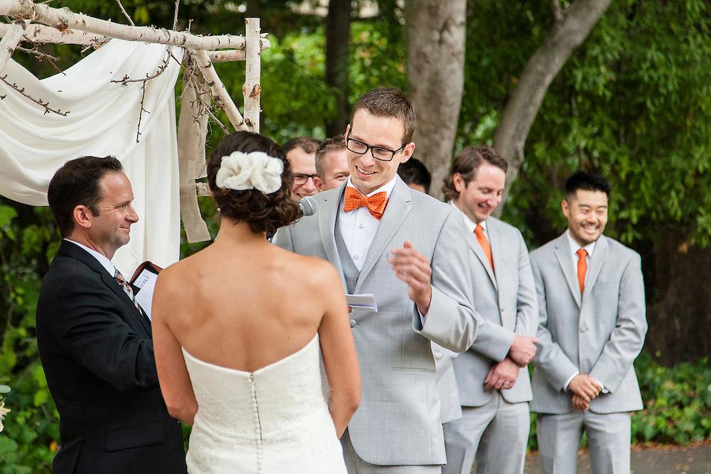 Berkeley Faculty Club Wedding