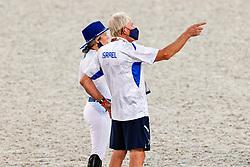 Horn Hans, NED, Bond Ashlee, ISR<br /> Olympic Games Tokyo 2021<br /> © Hippo Foto - Dirk Caremans<br /> 06/08/2021