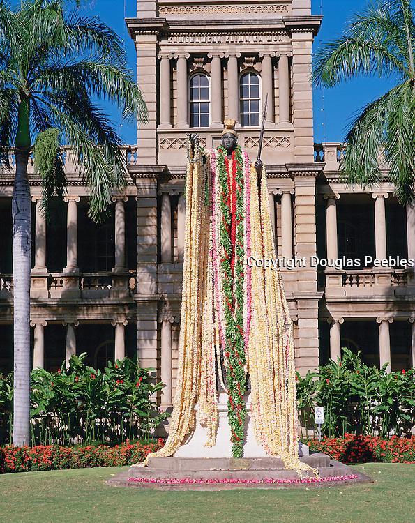 Kamehameha Statue, Honolulu, Hawaii, USA<br />