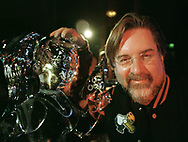 Matt Groening, creator of US hit cartoon series the Simpsons, pictured in Edinburgh presenting an animation workshop as part of the Edinburgh International Television Festival where he launched his new cartoon series Futurama.