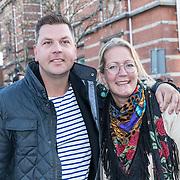 NLD/Amsterdam/20190401 -  Opening Burgerroom Gordon , Stephan en Ilona Pos