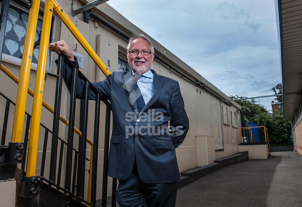 Picture by Daniel Hambury/Stella Pictures Ltd +44 7813 022858<br /> 17/06/2013<br /> Gascoigne Primary School head teacher, Bob Garton.