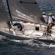 Regardless, Richard Archer's Melges 24 - the smallest boat in Antigua Sailing Week