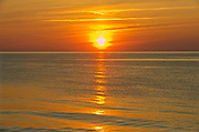 Sunset over the Northumberland Strait<br />Waterford<br />Prince Edward Island<br />Canada