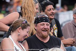 The Iron Horse Saloon during the 2015 Biketoberfest Rally on the final Sunday. Ormond Beach, FL, USA. October 18, 2015.  Photography ©2015 Michael Lichter.