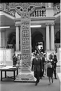 King Baudouin and Queen Fabiola of Belgium visit the National Museum, Kildare Street, Dublin..15.05.1968