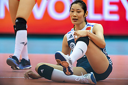 14-10-2018 JPN: World Championship Volleyball Women day 15, Nagoya<br /> China - United States of America 3-2 / Ting Zhu #2 of China