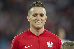 October 14, 2018 - Chorzow, Poland - Piotr Zielinski of Poland during the UEFA Nations League A match between Poland and Italy at Silesian Stadium in Chorzow, Poland on October 14, 2018  (Credit Image: © Andrew Surma/NurPhoto via ZUMA Press)