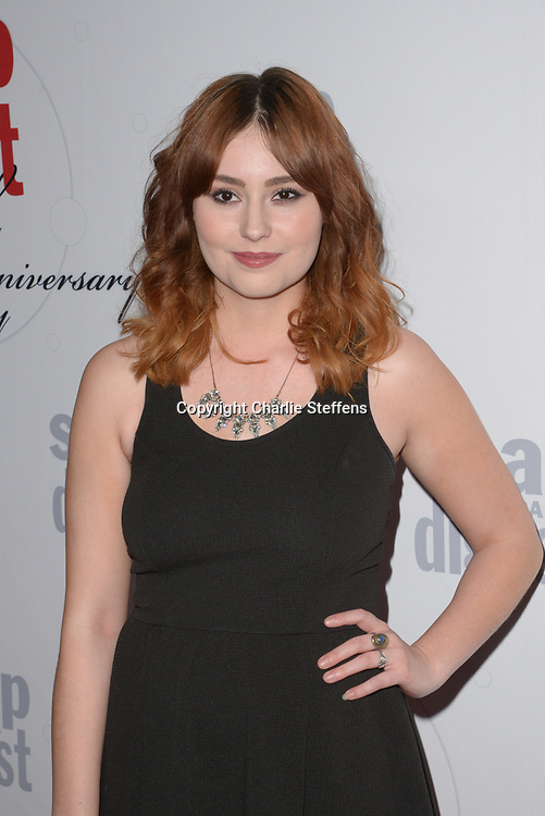 JILLIAN CLARE at Soap Opera Digest's 40th Anniversary party at The Argyle Hollywood in Los Angeles, California