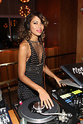 New York, NY-December 20: DJ Natasha Diggs spins at the Ascension Party-A Holiday Affair curated by D'Prosper and held at the Top of the Standard on December 20, 2017 in New York City.  (Terrence Jennings/terrencejennings.com)