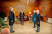 Beediging Ministers door Koning Willem-Alexander