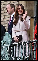 NOV 28 2012 Duke and Duchess of Cambridge in Cambridge