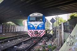 Transporte público por trens, em Buenos Aires. FOTO: Jefferson Bernardes/ Agência Preview