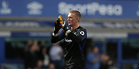 Football - 2017 / 2018 Premier League - Everton vs. Stoke City<br /> <br /> Jordan Pickford of Everton at Goodison Park.<br /> <br /> COLORSPORT/LYNNE CAMERON