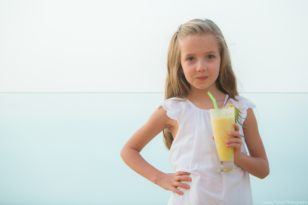Child friendly at Sea and Sky beach front restaurant located on Ban Tai beach, Koh Samui, Thailand