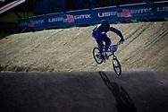 #108 (SANTILLAN Hernan) ARG at the 2013 UCI BMX Supercross World Cup in Chula Vista