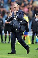Everton Manager Ronald Koeman looking dejected after the final whistle. Premier League match, Burnley v Everton at Turf Moor in Burnley , Lancs on Saturday 22nd October 2016.<br /> pic by Chris Stading, Andrew Orchard sports photography.