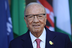27.05.2017, Taormina, ITA, 43. G7 Gipfel in Taormina, im Bild Beji Caid Essebsi, Präsident der Tunesischen Republik // Beji Caid Essebsi, President of the Tunisian Republic during the 43rd G7 summit in Taormina, Italy on 2017/05/27. EXPA Pictures © 2017, PhotoCredit: EXPA/ SM<br /> <br /> *****ATTENTION - OUT of GER*****