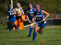 GHS Field Hockey versus Winnisquam.  © 2013 Karen Bobotas Photographer