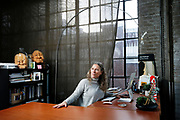 Lisa Steindler at the main stage of Z Space, Wednesday, Jan. 17, 2018, in San Francisco, Calif. Steindler is the executive artistic director of Z Space.