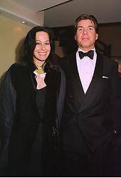 AMANDA, LADY HARLECH and MR HUGO DE FERRANTI, at a dinner in London on 1st December 1998.MMN 21