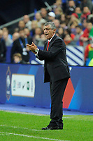 Head coach of Portugal Fernando Santos during the International friendly game 2014 football match between France and Portugal on October 11, 2014 at Stade de France in Saint Denis, France. Photo Jean Marie Hervio / Regamedia / DPPI