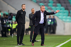 Tomaz Kavcic, head coach of Slovenia during football match between National Teams of Slovenia and Cyprus in Final Tournament of UEFA Nations League 2019, on October 16, 2018 in SRC Stozice, Ljubljana, Slovenia. Photo by  Morgan Kristan / Sportida