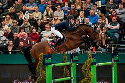 STÜHLMEYER Patrick (GER), Chacgrano<br /> Leipzig - Partner Pferd 2019<br /> Longines FEI Jumping World Cup<br /> Qualifikation CSI-W<br /> 18. Januar 2019<br /> © www.sportfotos-lafrentz.de/Stefan Lafrentz