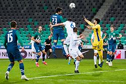 Nemanja Mitrovic of Slovenia during friendly match between national teens of Slovenia and San Marino, October 7, 2020 in Stadium Stozice, Ljubljana, Slovenia. Photo by Grega Valancic / Sportida
