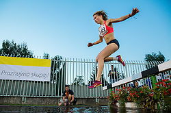 Marusa Mismas of Slovenia competes at 3000m Steeplechase Women during 20th European Athletics Classic Meeting in Honour of Miners' Day in Velenje on July 1, 2015 in Stadium Velenje, Slovenia. Photo by Vid Ponikvar / Sportida