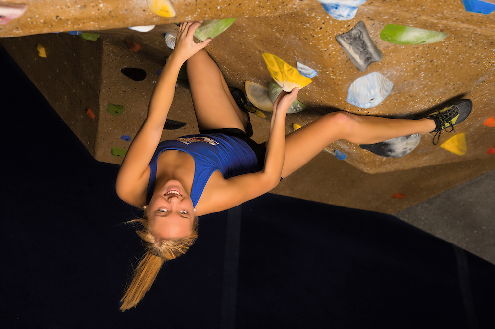 Rock climbing gym promotion