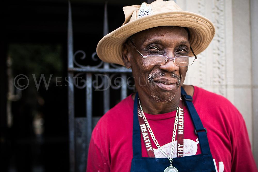 2017 Durham Cuban Sandwich Shop Portrait, Main Street, downtown Durham, N.C., Sept. 18, 2017.