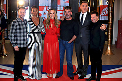 Ant McPartlin (left to right), Alesha Dixon, Amanda Holden, Simon Cowell, David Walliams and Declan Donnelly attending the Britain's Got Talent Photocall at the Opera House, Church Street, Blackpool.