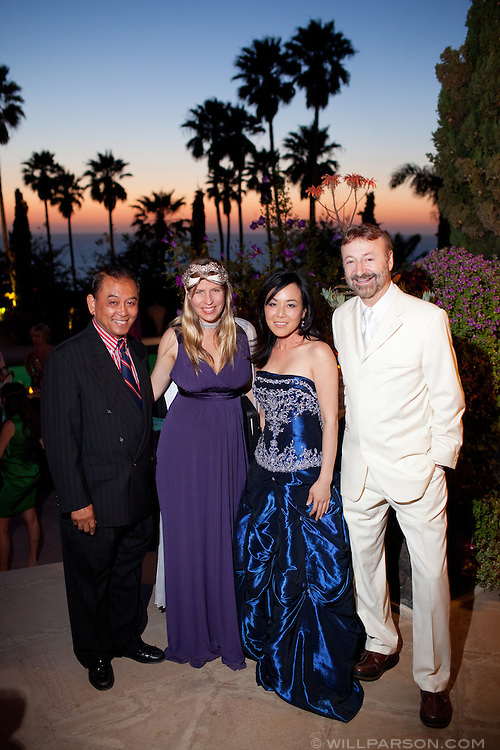 Mr. Pizaro, Julia Yoo, Rachel Jensen and Eugene Iredale.