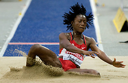 Ruky Abdulai of Canada competes in the women's Long Jump Qualification during day seven of the 12th IAAF World Athletics Championships at the Olympic Stadium on August 21, 2009 in Berlin, Germany.(Photo by Vid Ponikvar / Sportida)
