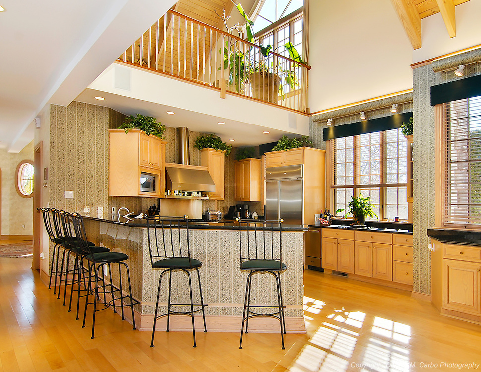 Vaulted Ceiling Kitchen - Cheshire, CT