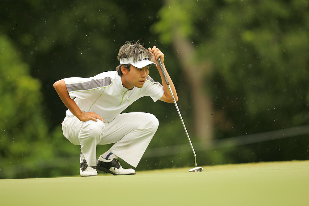FORT WORTH, TX - MAY 25:  Kevin Na competes during the second round of the 2007 Crowne Plaza Invitational At Colonial tournament in Fort Worth, Texas at Colonial Country Club on Friday, May 25, 2007. (Photo by Darren Carroll/Getty Images) *** LOCAL CAPTION*** Kevin Na